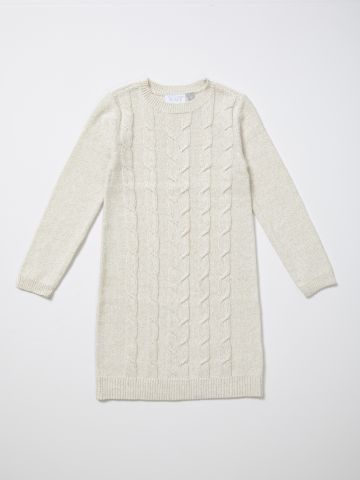 שמלת סוודר עם שרוולים ארוכים / בנות