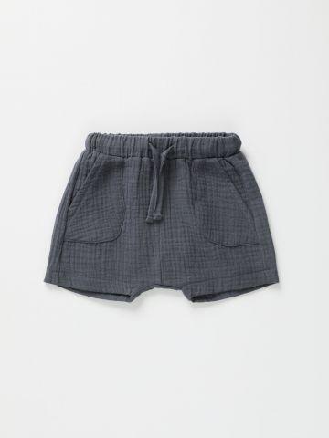מכנסי טטרה קצרים עם כיסים / 3M-2Y של TERMINAL X KIDS