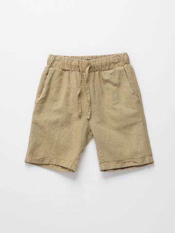 מכנסי ברמודה פשתן / 12M-6Y של TERMINAL X KIDS