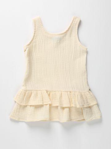 שמלת טטרה בסגנון קומות / 12M-6Y