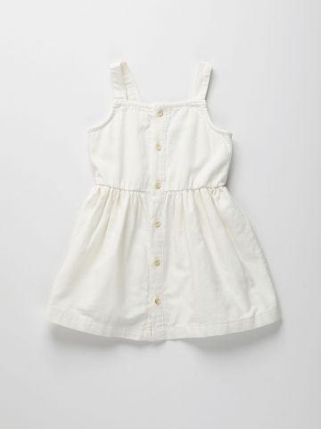 שמלה מכופתרת / 12M-6Y