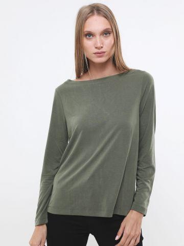 חולצת טוניקה עם שרוולים ארוכים