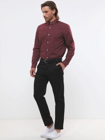 מכנסיים מחויטים בגזרת סלים