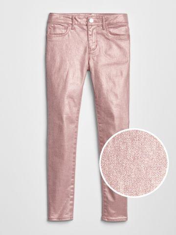 ג'ינס סטרץ' בגימור מטאלי / בנות