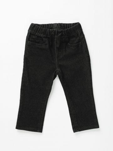 ג'ינס סלים ווש עם גומי / 12M-5Y