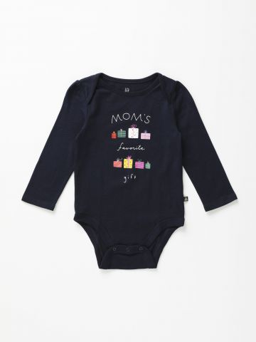 בגד גוף שרוולים ארוכים 0-24M / Mom's Favorite Gift
