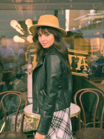 כובע צמר רחב שוליים Paris