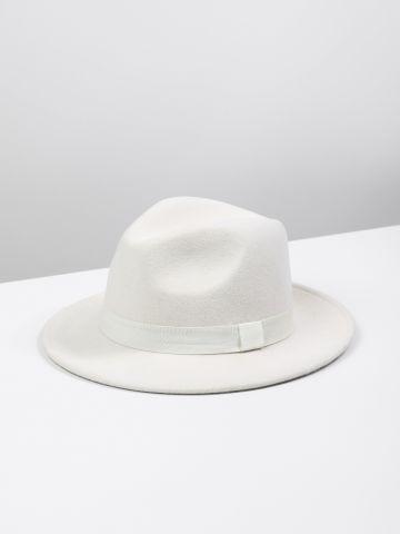 כובע צמר רחב שוליים Yang
