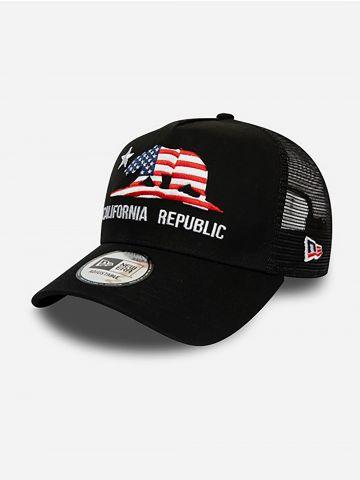 כובע מצחייה עם פאץ' קליפורניה
