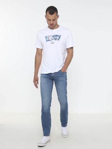 ג'ינס סטרץ' בגזרה ישרה