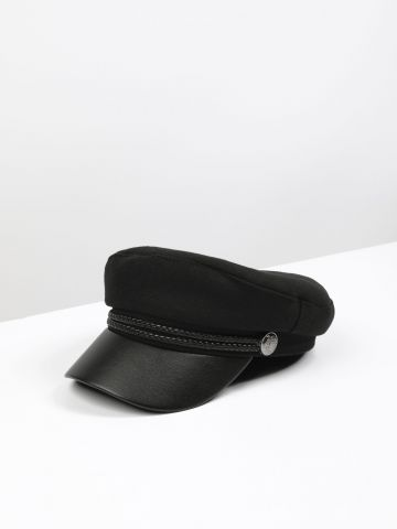 כובע קסקט בעיטור חבלים / נשים