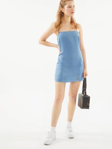 שמלת סאטן מיני UO