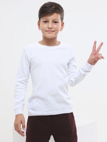 חולצה תרמית עם שרוולים ארוכים