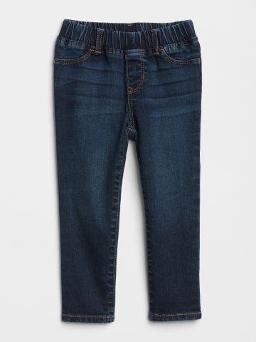 ג'ינס סטרץ' בשטיפה כהה / 12M-5Y