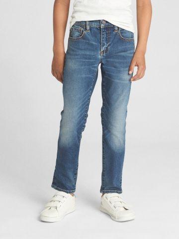 ג'ינס סקיני סטרץ' בשטיפה כהה