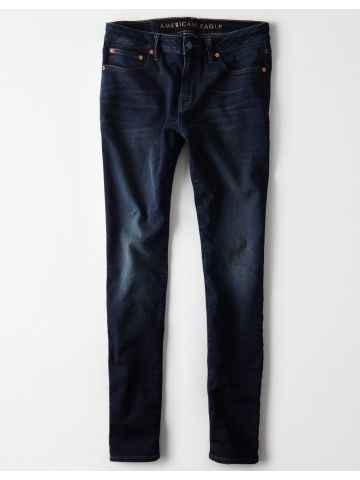 ג'ינס סקיני בשטיפה כהה Skinny / גברים