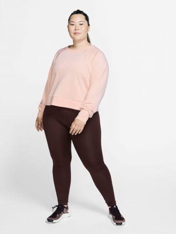 חולצת אימון Dri-FIT עם שרוולים ארוכים / Plus Size