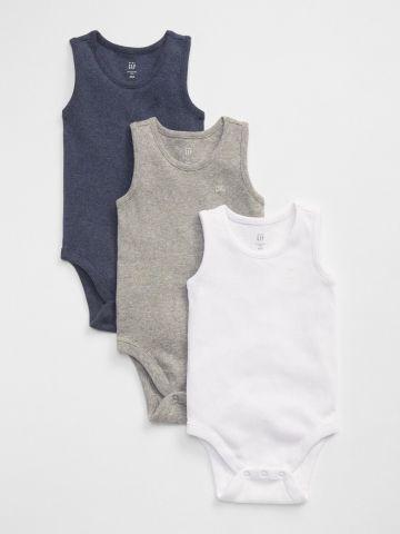 מארז 3 בגדי גוף ריב / בייבי בנים
