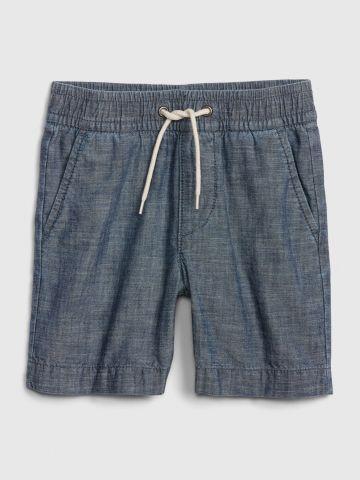 מכנסיים קצרים דמוי ג'ינס / 12M-5Y