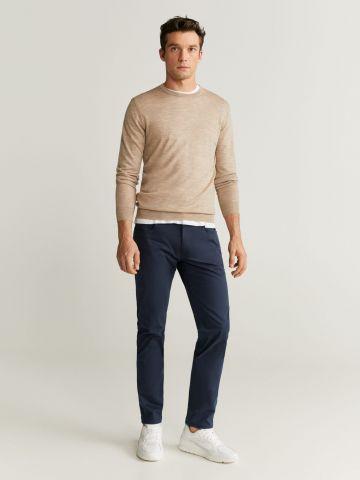 מכנסיים דמוי ג'ינס בגזרת Slim fit