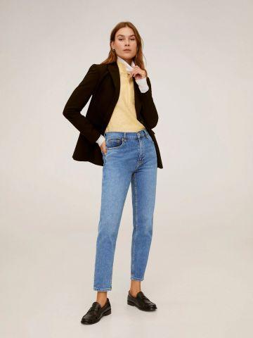 ג'ינס Mom בגזרת סלים של MANGO