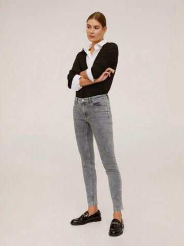 ג'ינס סקיני ווש פוש-אפ