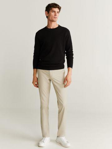 מכנסי צ'ינו בגזרת Slim fit