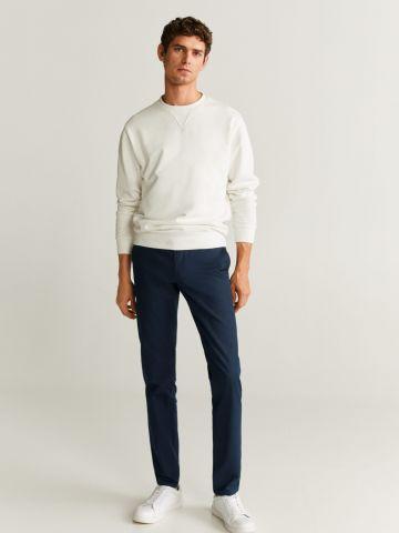 מכנסי צ'ינו בגזרת Slim fit של MANGO