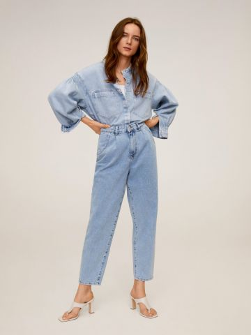 ג'ינס בגזרה ישרה Slouchy