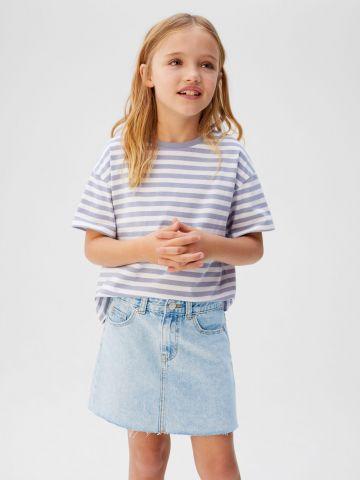 חצאית ג'ינס מיני