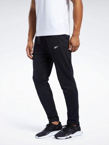 מכנסי טרנינג ארוכים עם הדפס לוגו