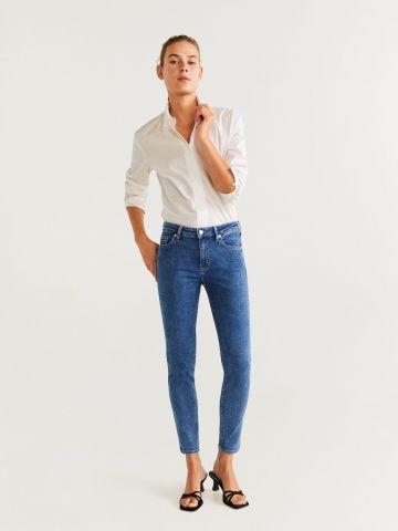 ג'ינס סקיני חלק