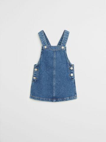 שמלת ג'ינס בשטיפה כהה / 9M-4Y