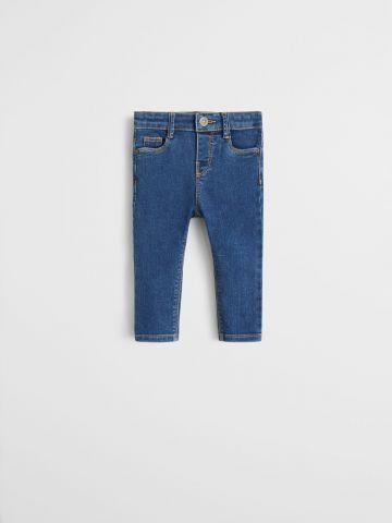 ג'ינס Slim Fit בשטיפה כהה / 9M-4Y