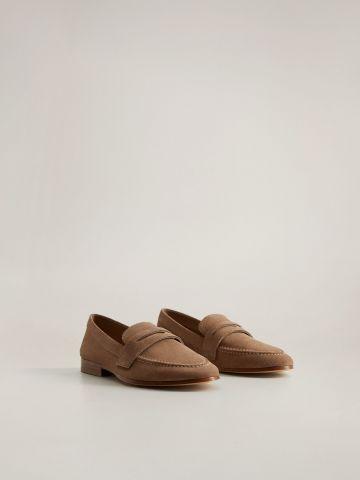 נעלי מוקסין מזמש / נשים