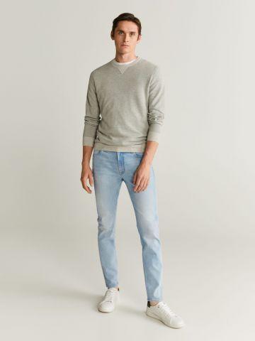 ג'ינס Skinny בשטיפה בהירה