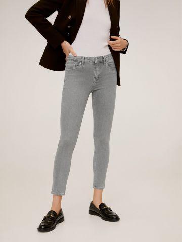 מכנסי ג'ינס Skinny סטרץ' ארוכים