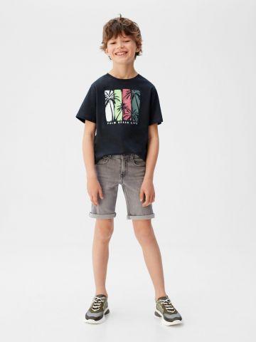 ג'ינס ברמודה קצר / בנים