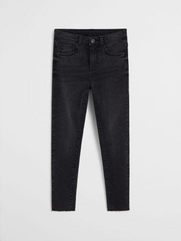 ג'ינס סלים פיט בגזרה גבוהה / בנות