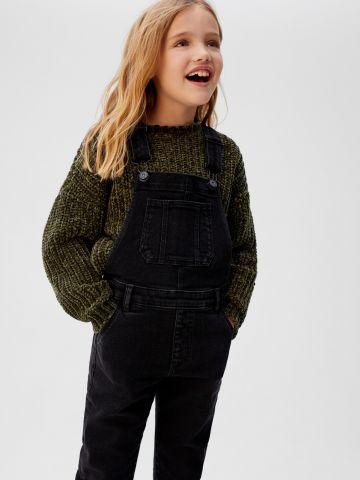 אוברול ג'ינס ארוך בגזרת סקיני של MANGO