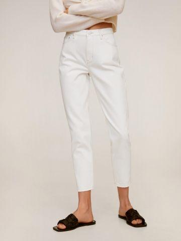 ג'ינס קרופ בגזרת Mom