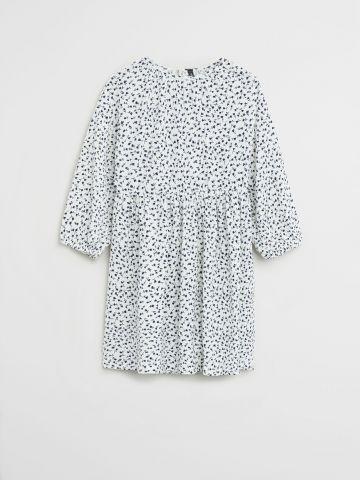 שמלת מיני בהדפס פרחים / בנות