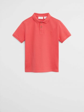 חולצת פולו חלקה / בנים של MANGO