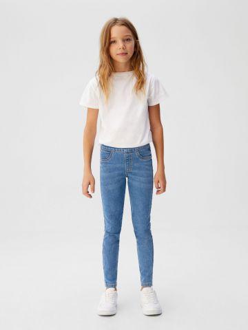 מכנסי ג'ינס סקיני סטרץ'