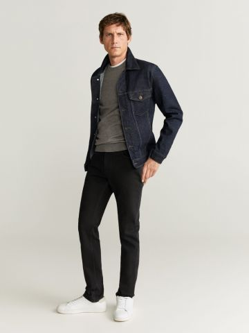 ג'ינס בגזרת Slim Fit / Jan