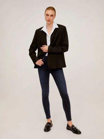 ג'ינס סקיני בשטיפה כהה NOA