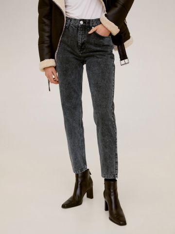 ג'ינס אסיד ווש בגזרת Mom