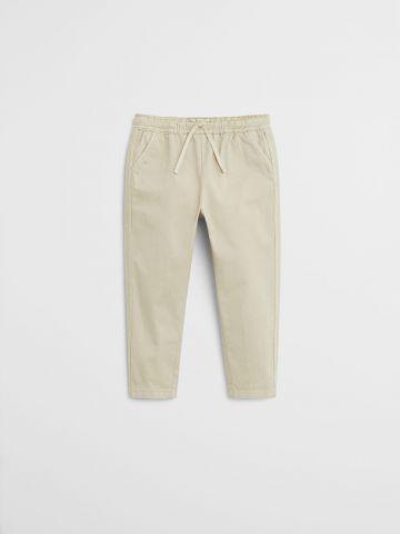 מכנסיים ארוכים עם סטריפים בצדדים / 9M-4Y