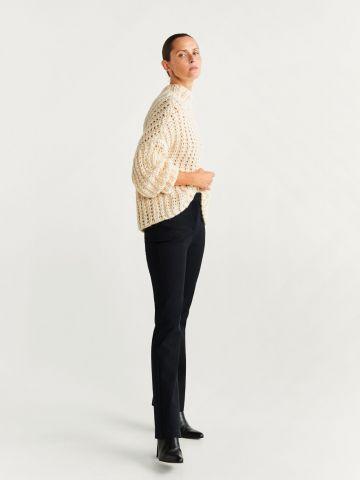 מכנסיים ארוכים מתרחבים