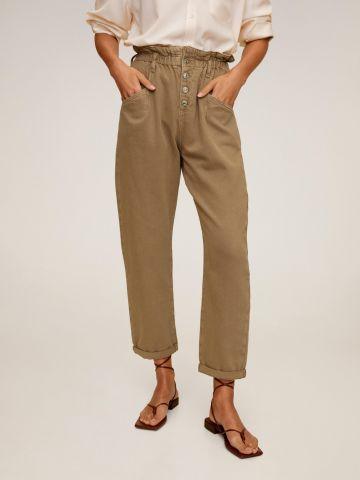 ג'ינס פייפרבאג ארוך